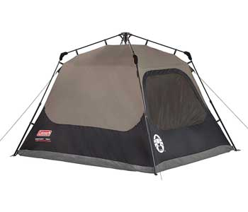 Coleman 4 person cabin tent
