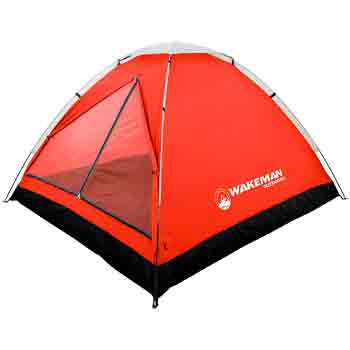 wakeman 2 person camping tent