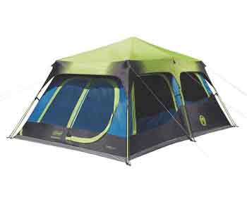 best 10 person tent - coleman sundome