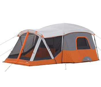 best 10 person tent - core 11 person family tent