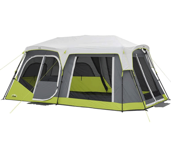 core 12 person intant cabin tent