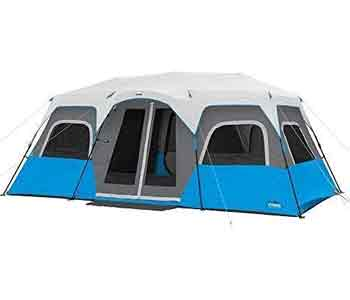 best 12 person tent - core lighted