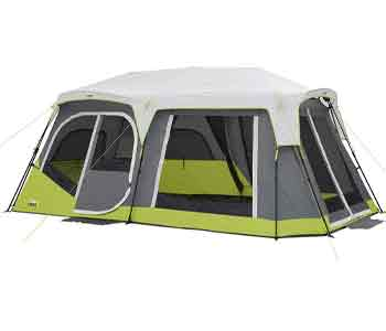 best 12 person tent - core two room