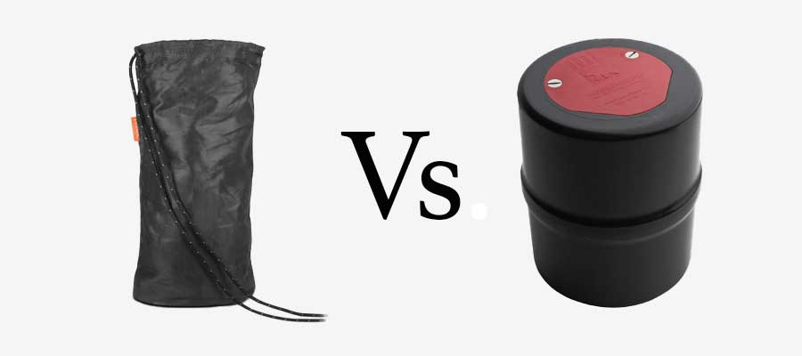 bear bag vs bear canister