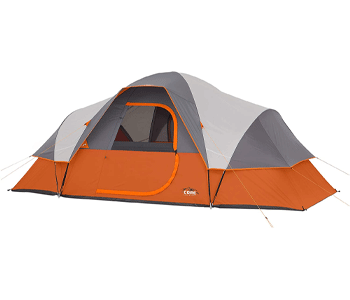 best 8 person tent - core 9 person