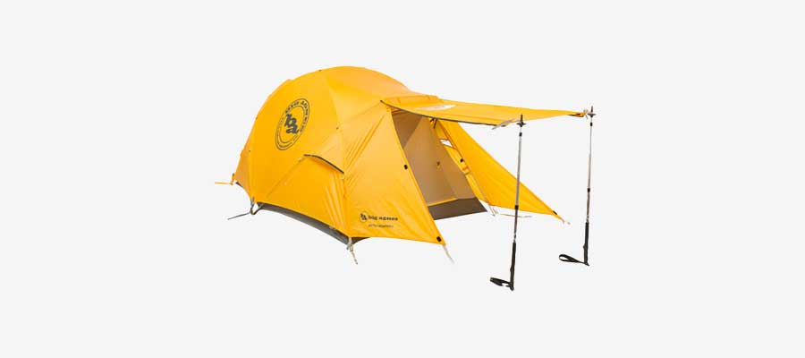 best cold weather tent - big agnes
