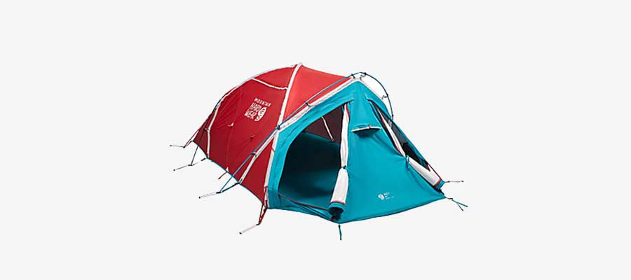 mountain hardwear cold weather tent