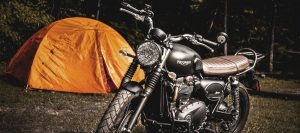 best sleeping bag for motorcycle camping
