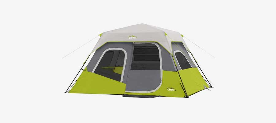 best cabin tent for camping - core 6