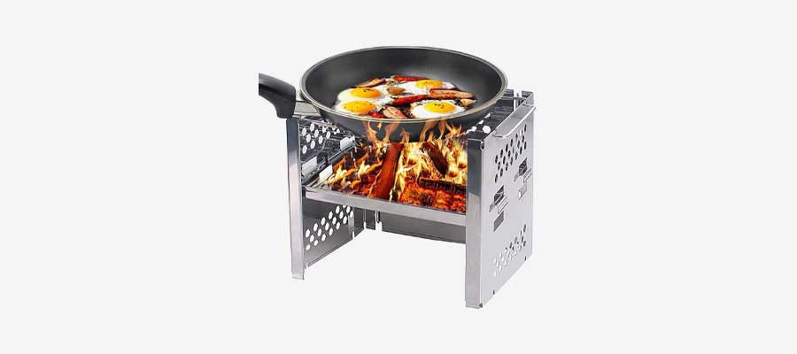 Unigear wood burning stove
